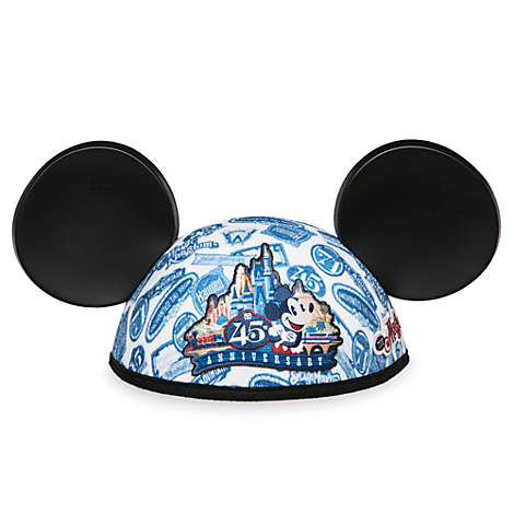 Mickey Mouse Ear Hat - Magic Kingdom 45th Anniversary - Walt Disney World