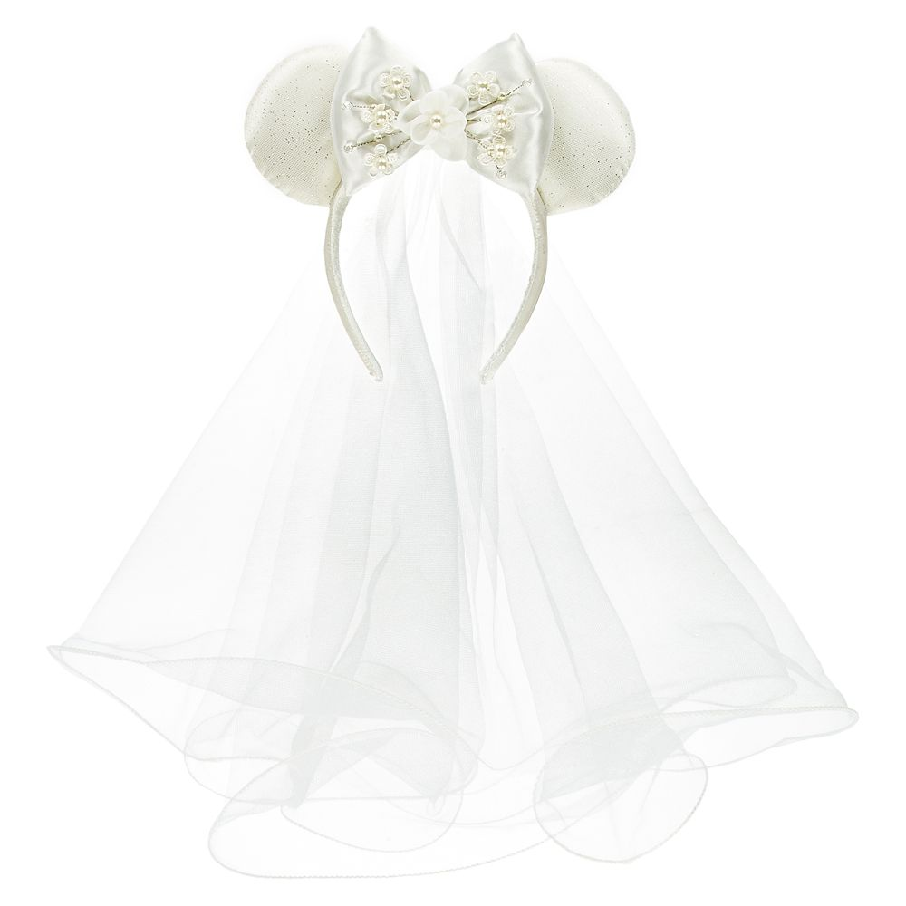 Minnie Mouse Bride Ear Headband