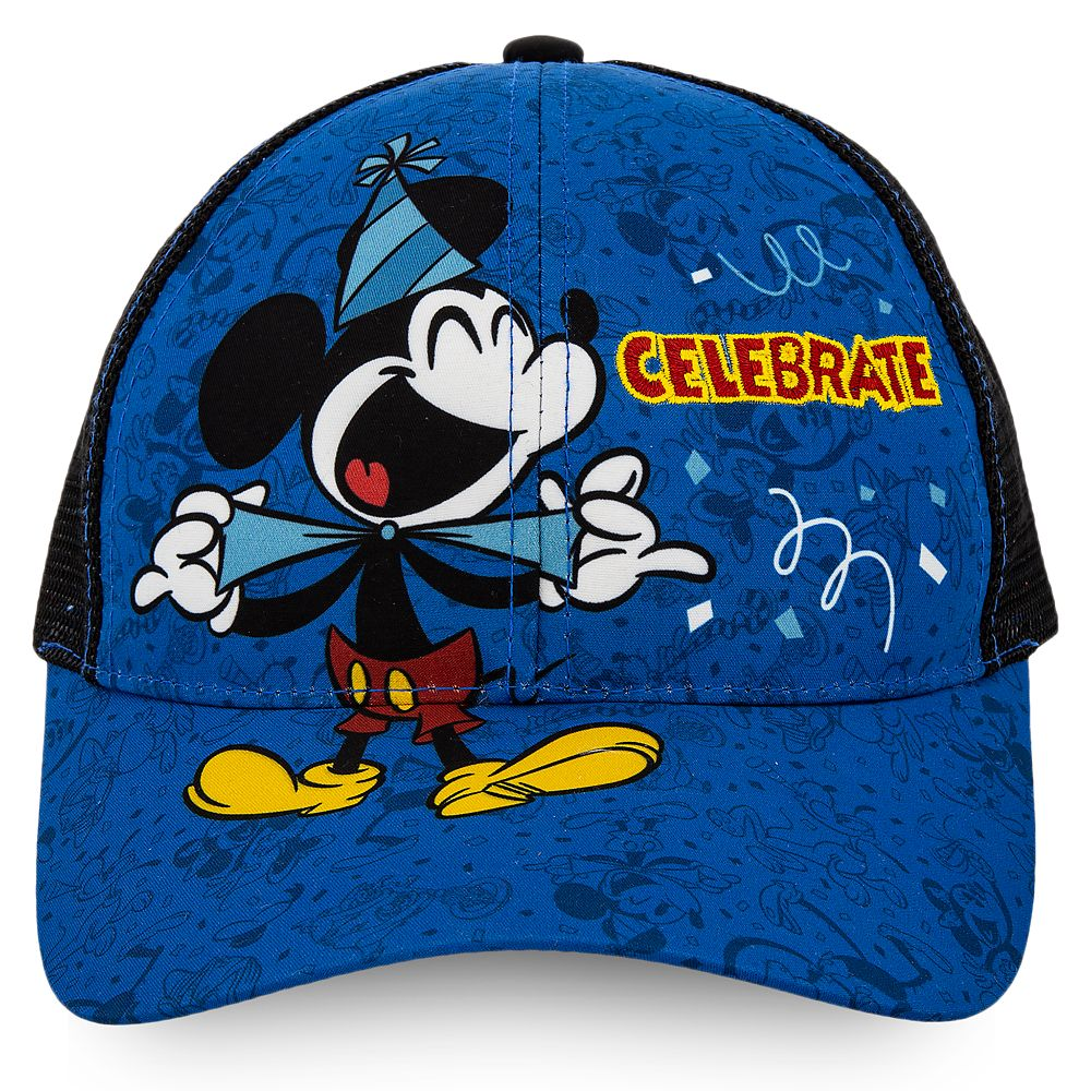 Mickey Mouse ''Celebrate'' Baseball Cap for Kids Official shopDisney