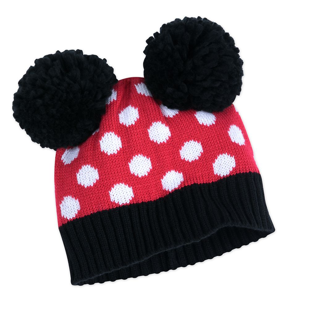 Minnie Mouse Hat and Glove Set for Kids