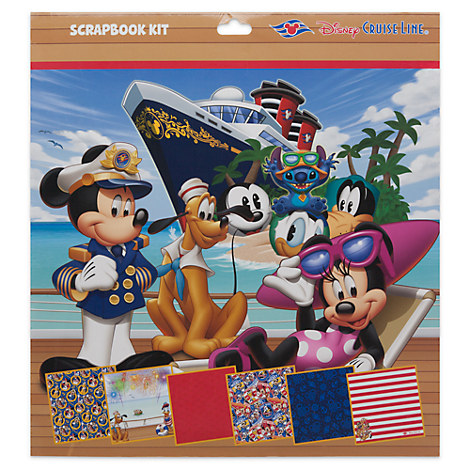 Mickey Mouse and Friends Scrapbook Kit - Disney Cruise Line