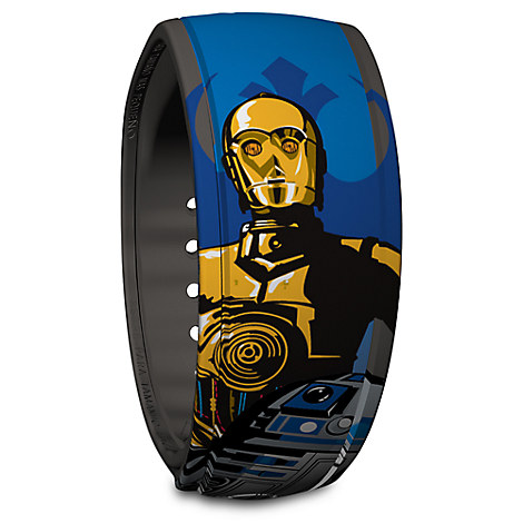 R2-D2 and C-3P0 Disney Parks MagicBand - Star Wars
