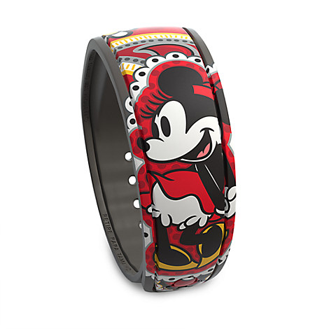 Minnie Mouse Paisley Disney Parks MagicBand