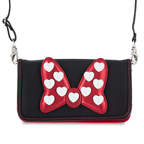 Minnie Mouse Bow Crossbody Smartphone Case
