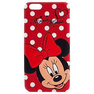 Minnie Mouse Leather iPhone 6 Plus Case