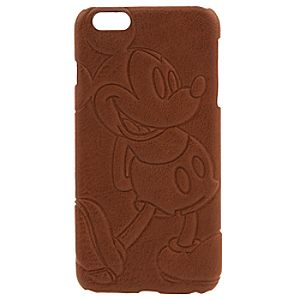 Mickey Mouse Leather iPhone 6 Plus Case