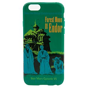 Star Wars Parks Attraction Poster iPhone 6/6S Case - Endor