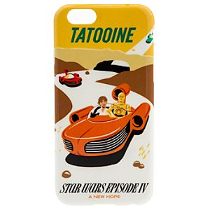 Star Wars Parks Attraction Poster iPhone 6/6S Case - Tatooine