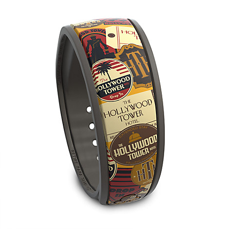 Hollywood Tower Hotel Disney Parks MagicBand