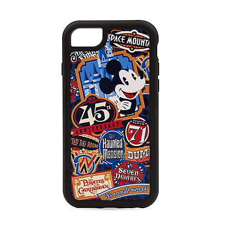 Magic Kingdom 45th Anniversary iPhone 7/6/ Case - Walt Disney World