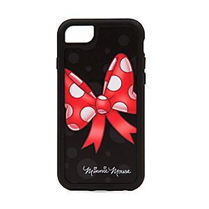 Disneystore Minnie Mouse Bow I Phone 7 / 6 / 6s Case