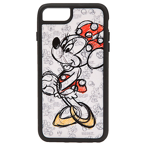 Minnie Mouse Sketch iPhone 7/6/6S Plus Case
