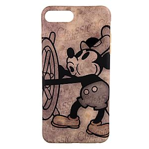 Disneystore Mickey Mouse I Phone 7 / 6 / 6s Plus Case  -  Steamboat Willie