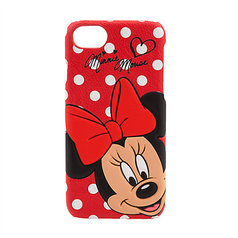 Minnie Mouse Leather iPhone 7/6 Case