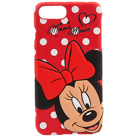 Minnie Mouse Leather iPhone 7/6 Plus Case
