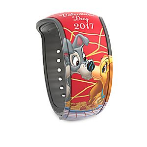 Lady and the Tramp Limited Edition MagicBand 2 - Valentine's Day 2017