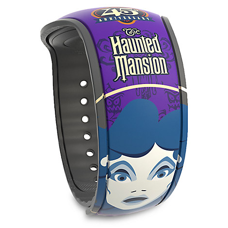 Magic Kingdom 45th Anniversary Limited Edition MagicBand 2 - The Haunted Mansion