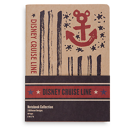 Disney Cruise Line Notebook Set