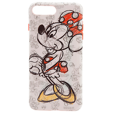 Minnie Mouse Sketch iPhone 7/6 Plus Case