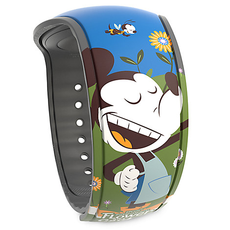 Disney Parks Limited Edition MagicBand 2 - Epcot International Flower & Garden Festival 2017