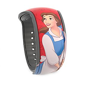 Belle and Lumiere MagicBand 2