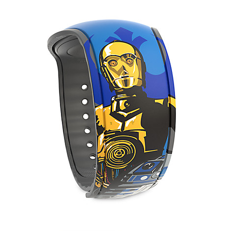 R2-D2 and C-3P0 MagicBand 2 - Star Wars