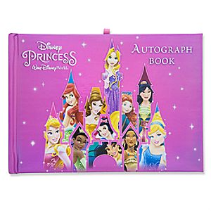 Disney Princess Autograph and Photo Book - Walt Disney World