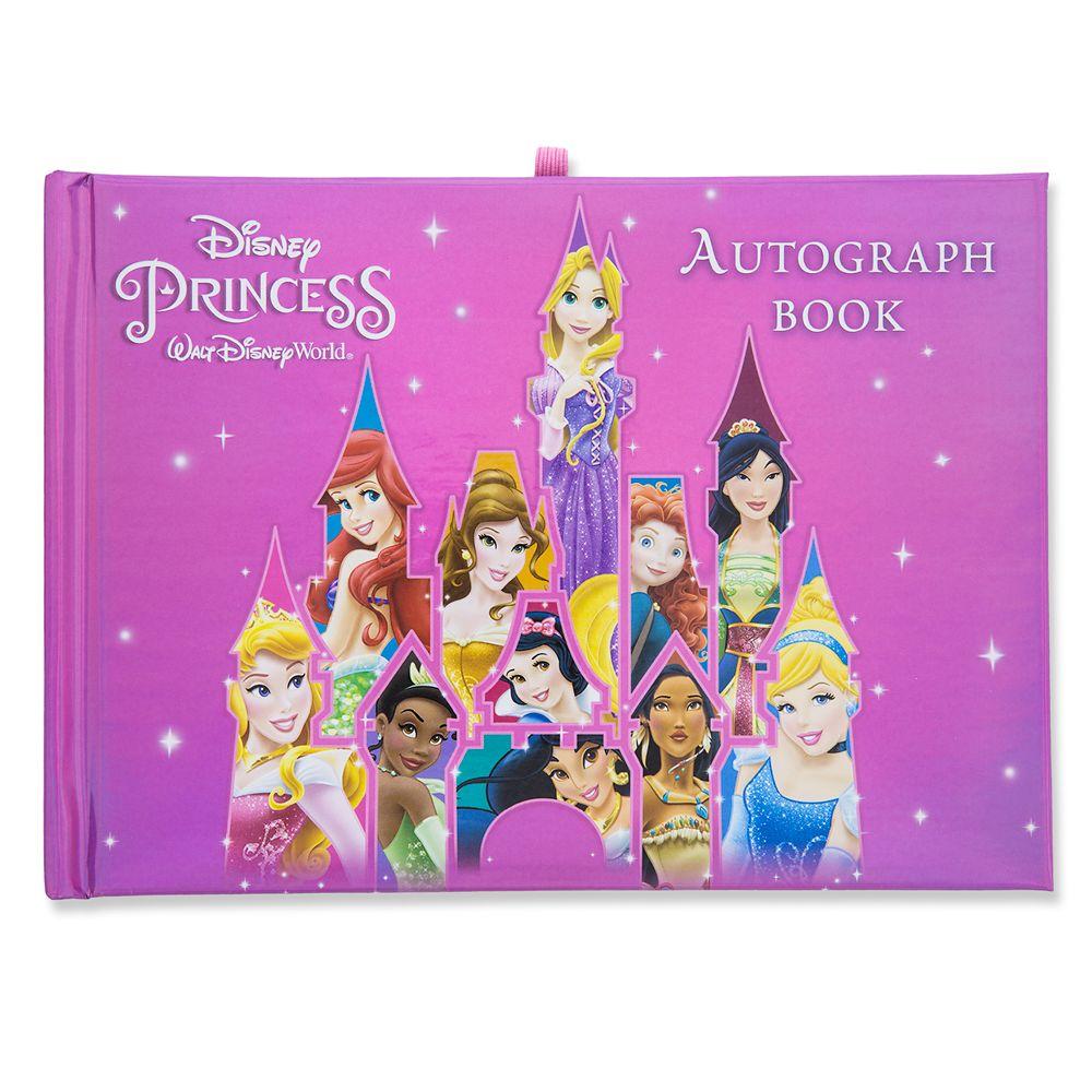 Disney Princess Autograph and Photo Book - Walt Disney World