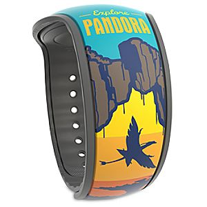 Pandora: The World of Avatar Limited Edition MagicBand 2 - Valley of Mo'ara