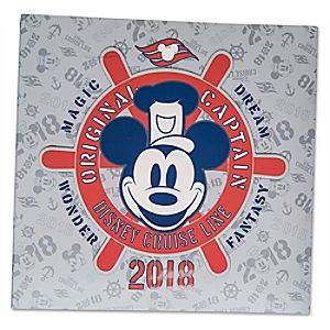 Mickey Mouse Photo Album - Disney Cruise Line 2018 - Medium