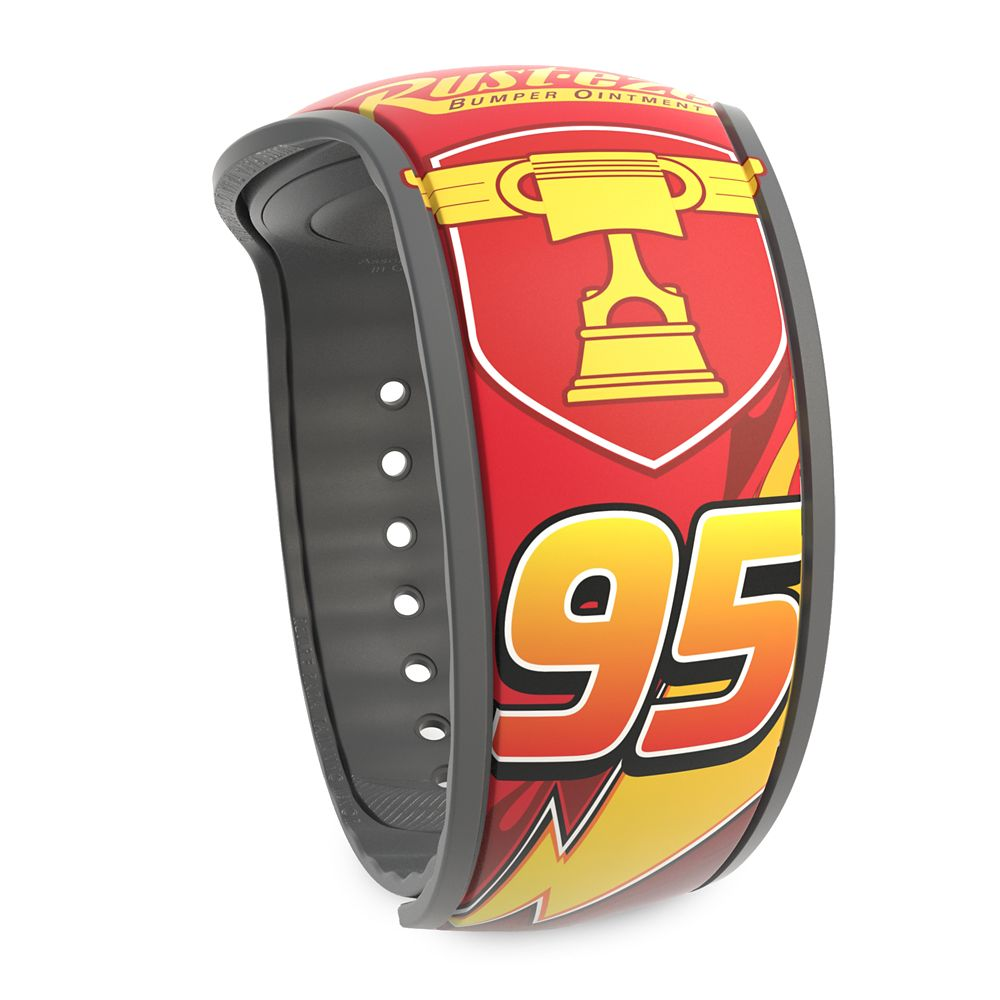 Lightning McQueen and Tow Mater MagicBand 2