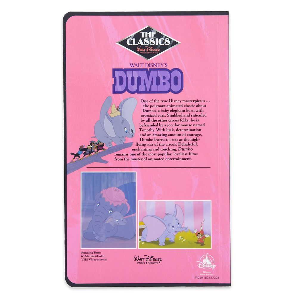 Dumbo ''VHS Case'' Journal