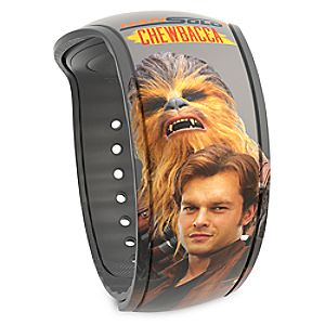 Han Solo and Chewbacca MagicBand 2 - Solo: A Star Wars Story