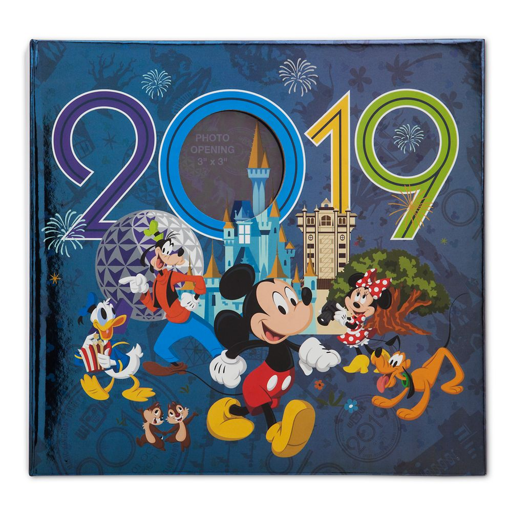 Mickey Mouse and Friends Photo Album – Walt Disney World 2019 – Medium