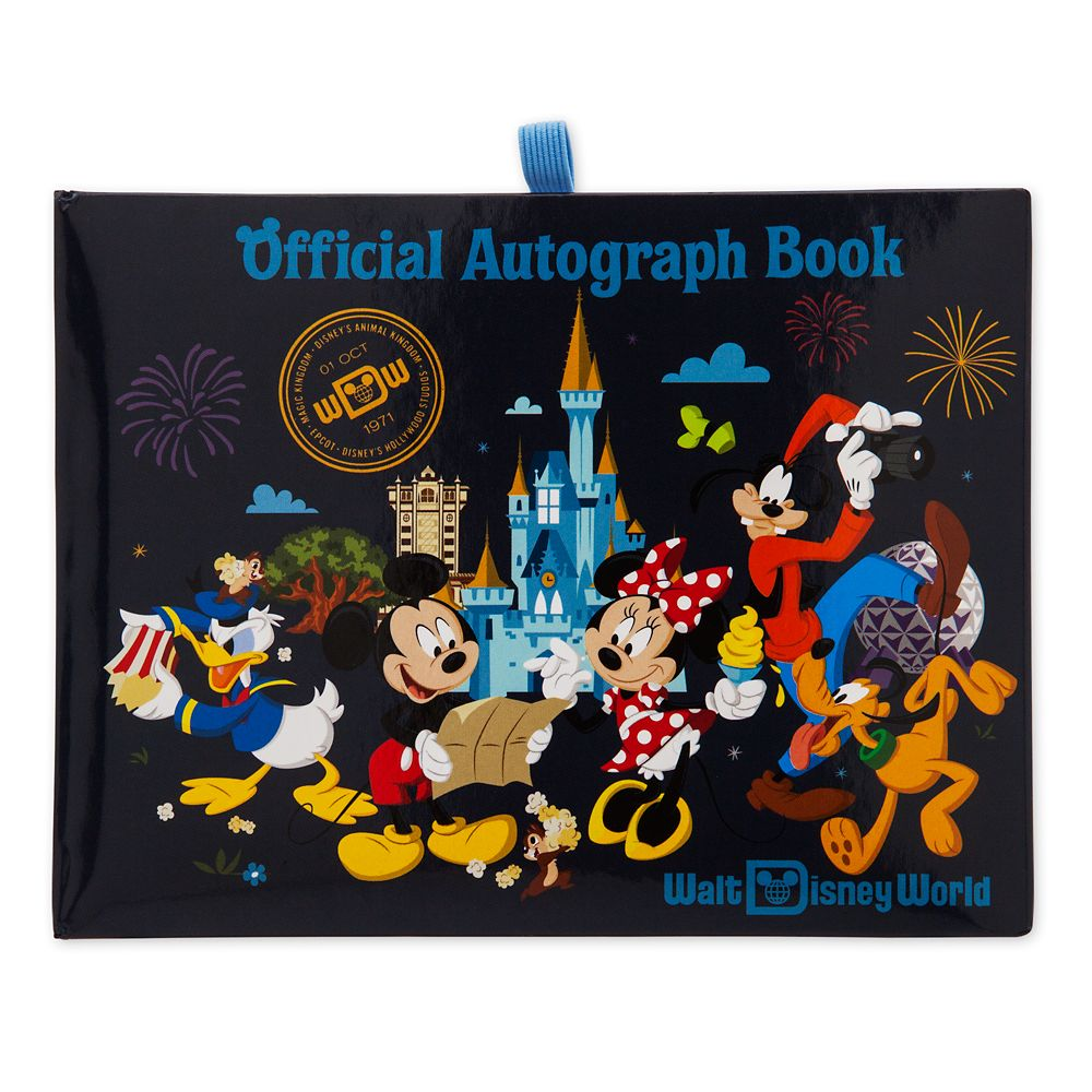 Mickey Mouse and Friends Autograph Book – Walt Disney World