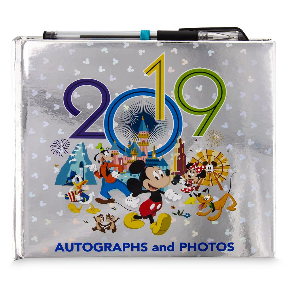 Mickey Mouse and Friends Autograph and Photo Album – Disneyland 2019