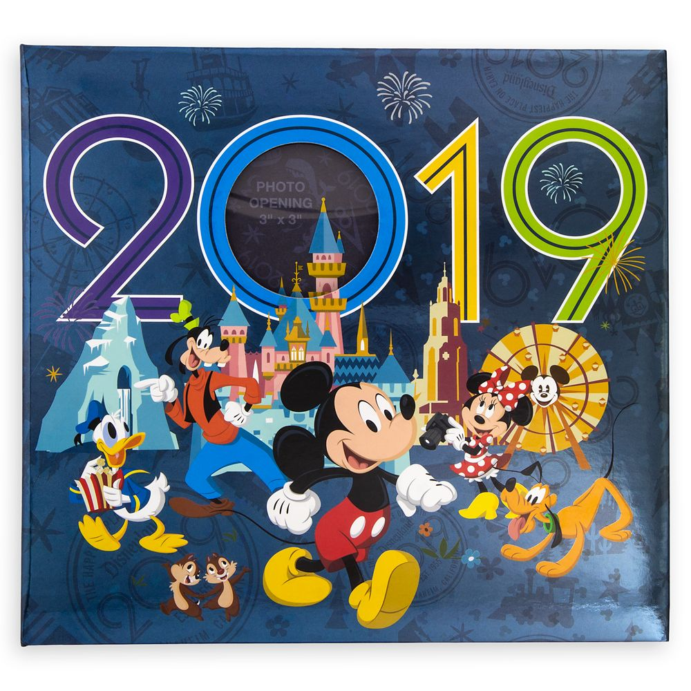 Mickey Mouse and Friends Photo Album – Disneyland 2019 – Medium