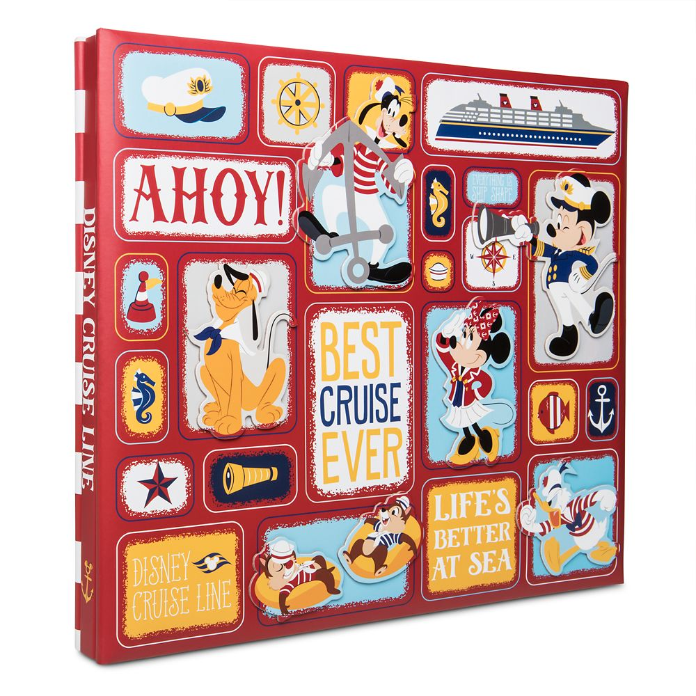 Mickey Mouse and Friends Disney Cruise Line Scrapbook – 12'' x 12''