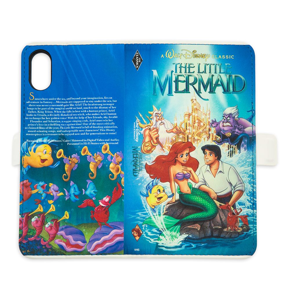 The Little Mermaid VHS Cover iPhone XS Case