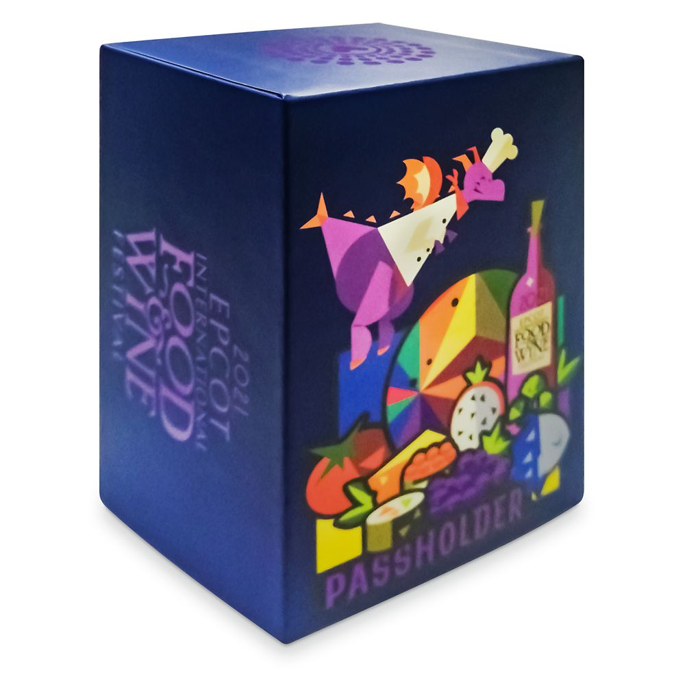 Figment MagicBand 2 – Epcot International Food & Wine Festival 2021 Annual Passholder – Limited Edition