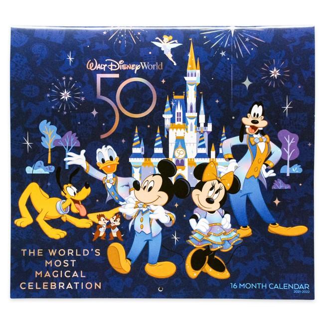 Walt Disney World 16 Month Calendar 2021-2022
