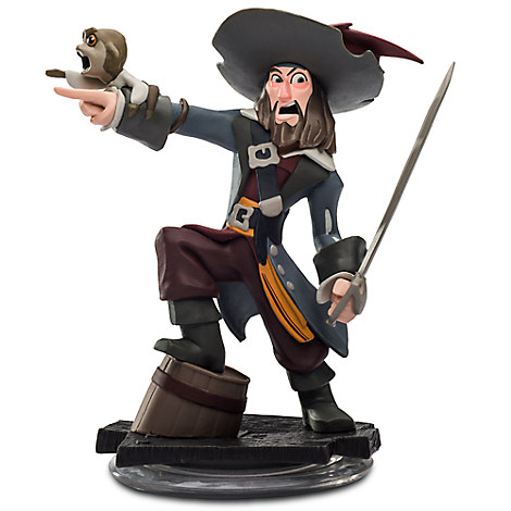 Captain Barbossa Figure - Disney Infinity