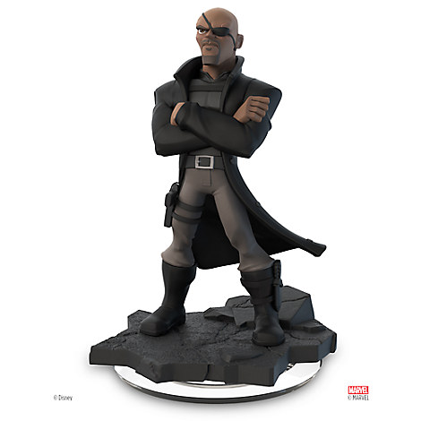 Nick Fury Figure - Disney Infinity: Marvel Super Heroes (2.0 Edition)