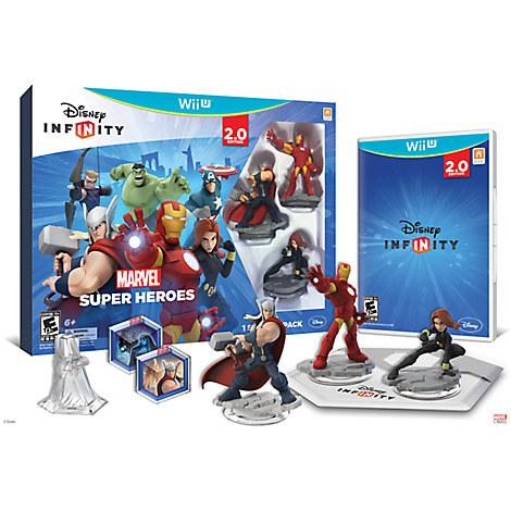 Disney Infinity: Marvel Super Heroes Starter Pack for Nintendo Wii U (2.0 Edition)