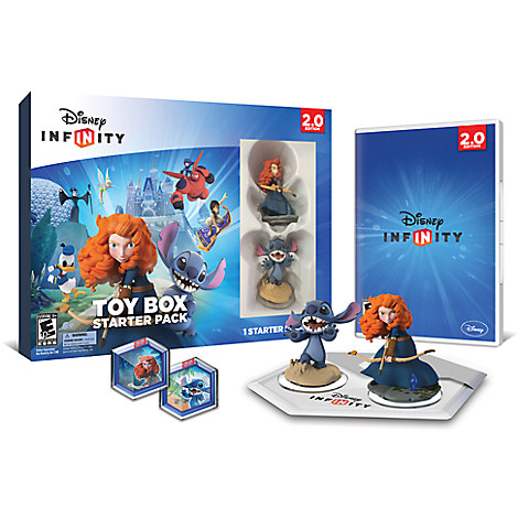 Disney Infinity: Toy Box Starter Pack for XBox 360 (2.0 Edition)