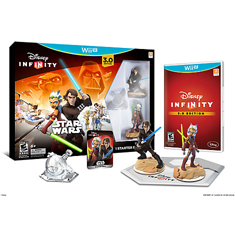 Disney Infinity: Star Wars Starter Pack for Nintendo Wii U (3.0 Edition)
