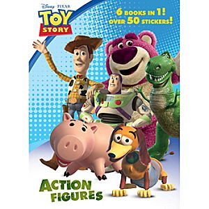 Toy Story 3 Action Figures Jumbo Coloring Book