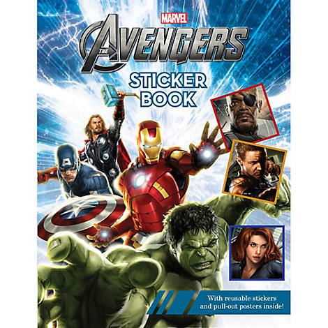 Avengers Sticker Book