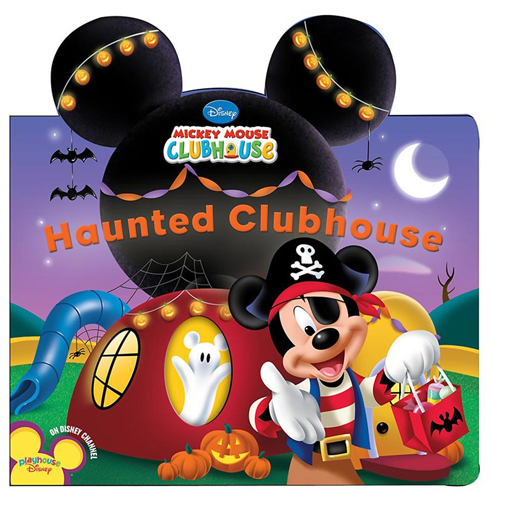 Haunted Clubhouse Book – Mickey Mouse Clubhouse