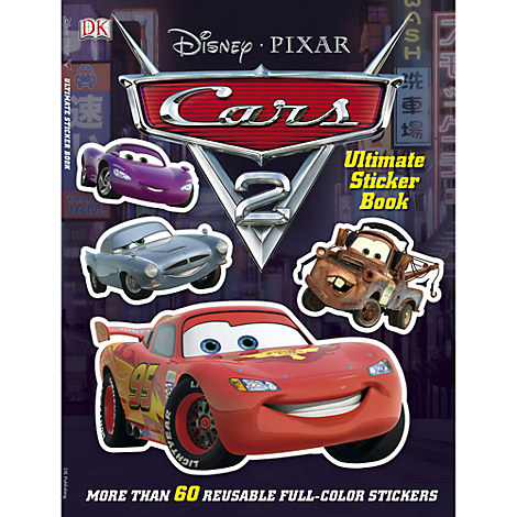 Cars 2 Ultimate Sticker Book